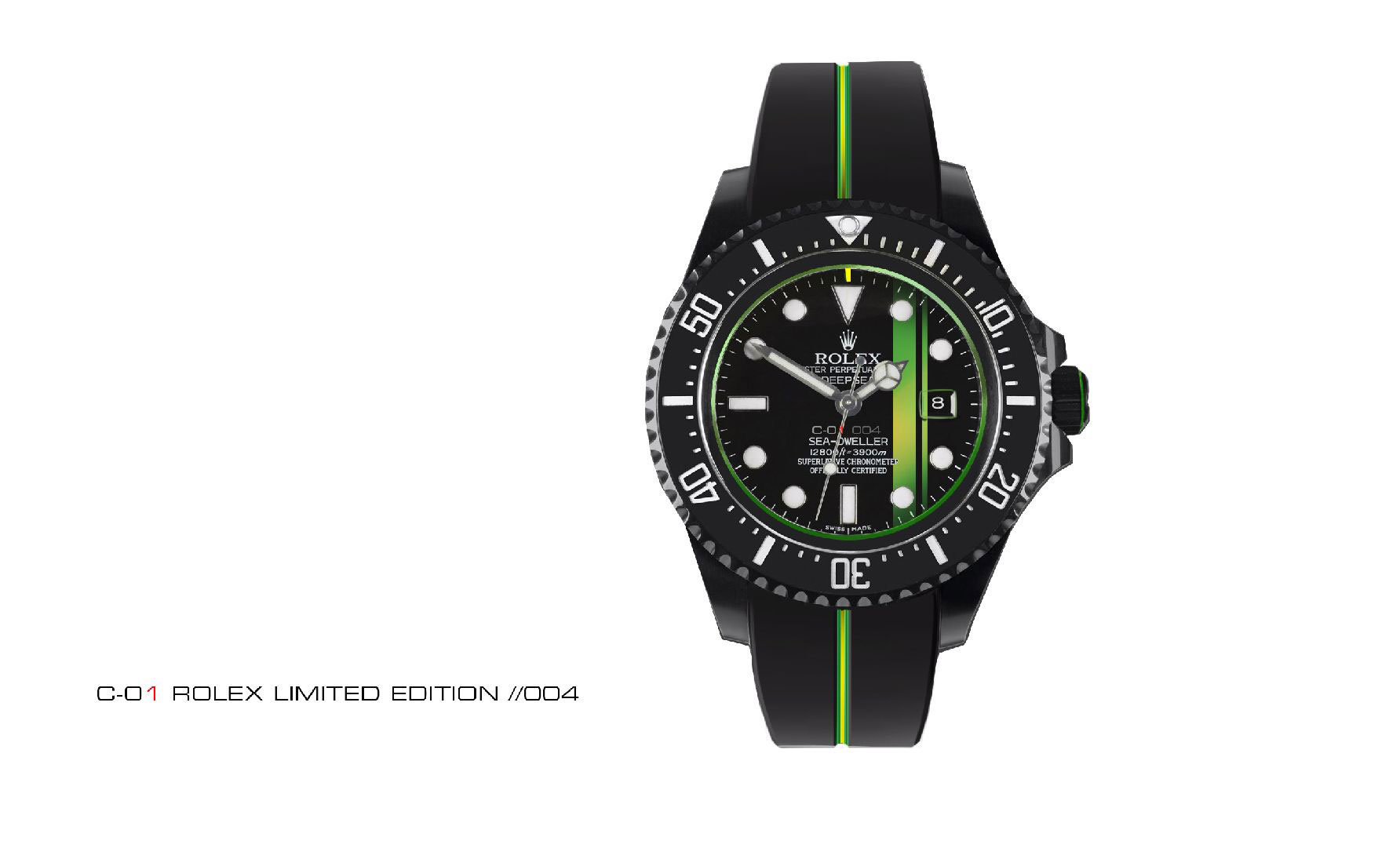 Rolex Lotus C01 Watch Green